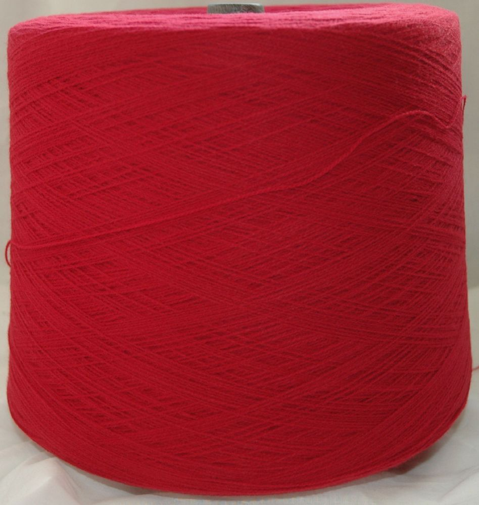 High Bulk Yarn 2/28s - Winter Red - 1600g